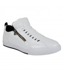 Vostro Weaver White Men Casual Shoes - VCS1065-40